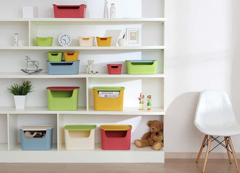 The storage box is changeable and orderly which allowing you to manage the house reasonably
