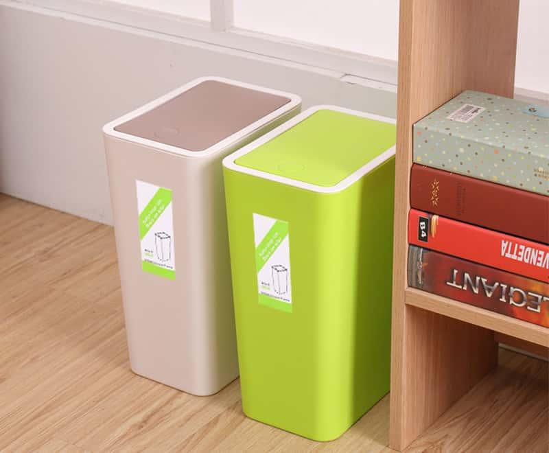 8LPress type trash can